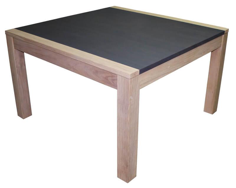 table repas carr e 1 allonge en papillon ouverture en. Black Bedroom Furniture Sets. Home Design Ideas