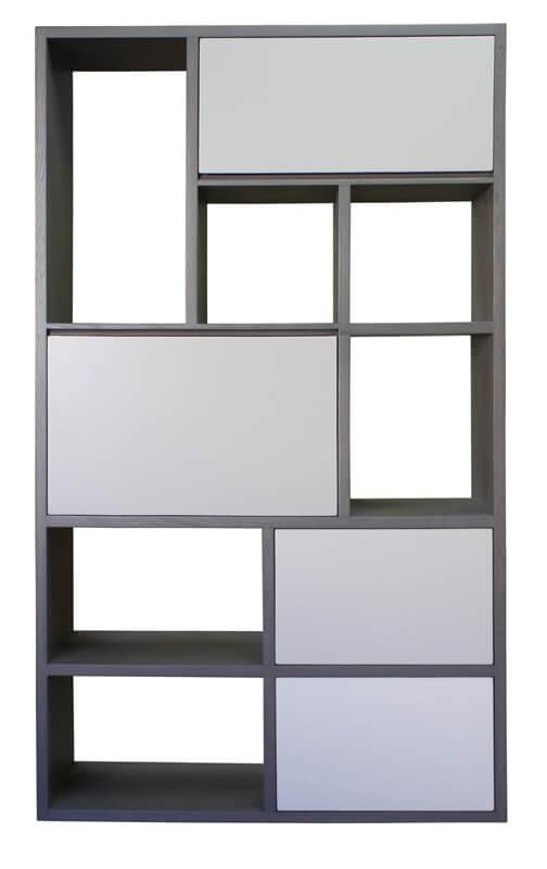 Chambre Rustique Chêne : Bibliothèque meuble