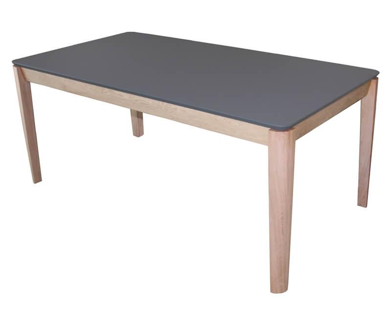 table chene massif blanchi table de salle manger en chne. Black Bedroom Furniture Sets. Home Design Ideas