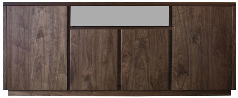 buffet 2 corps vaisselier bas 4 portes 1 tiroir haut. Black Bedroom Furniture Sets. Home Design Ideas