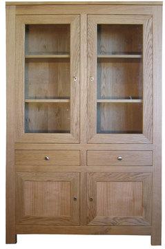 biblioth que composition murale sur mesure en bois massif fabriqu en france. Black Bedroom Furniture Sets. Home Design Ideas