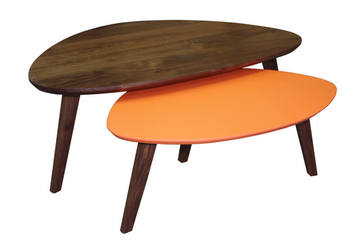 Meubles r tro vintage style scandinave sur mesure rennes for Table basse tripode gigogne