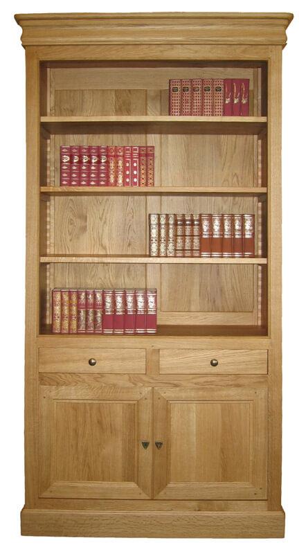 buffet 4 portes 1 tiroir chataignier ivoire bois 100 massif. Black Bedroom Furniture Sets. Home Design Ideas
